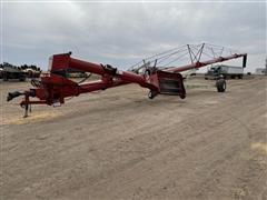 Farm King 16104 Auger W/ Remote Controlled Swing Hopper & Winch