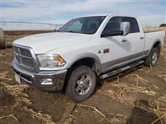 2012 RAM 2500 4x4 Pickup