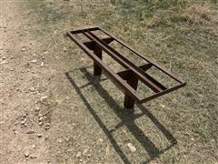 Shop Made Angle Iron Bench Seats