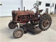 1931 Farmall Cub 2WD Tractor And Mower