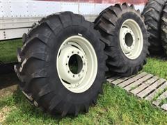 Michelin Agribib 16.9R28 Tractor Tires & Rims