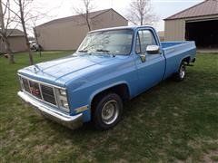 1987 GMC TR10903 2WD Single Cab Long Box Pickup