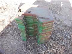 John Deere Front Suitcase Weights
