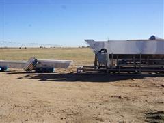 Norwalt Hopper/Conveyor Bin W/Feed Extensions