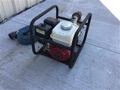 "Honda GX160 Motor W/2"" Liquid Transfer Pump & Hose"