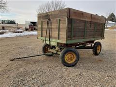 John Deere / Heider Hydraulic Harvest Wagon