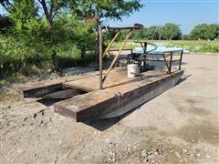 Shop Built Work Boat