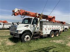 2007 International 7400 T/A SBA 6x4 Digger Derrick Truck
