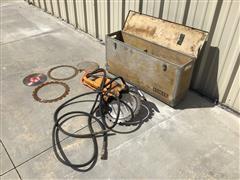 Partner K3500 Hydraulic Concrete Saw