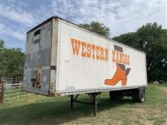 1974 Gindy S/A Enclosed Trailer