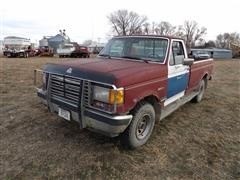 1989 Ford F150 4x4 Pickup
