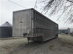 2012 EBY 53' Tri/A Pot Livestock Trailer