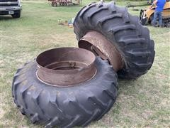 Goodyear 18.4-34 Duals (Tires & Rims)
