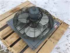 """Dayton 24"""" Shutter Exhaust Fan"""