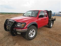 2003 Toyota Tacoma SRS TRD Off Road 4x4 Extended Cab Flatbed Pickup