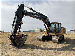2008 John Deere 200D LC Excavator W/Hyd Thumb