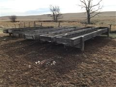 Wooden Feed Bunks