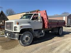 1995 GMC TopKick C7 4x2 Dump Truck