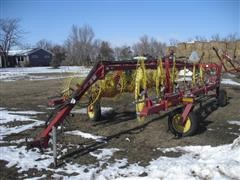 2010 New Holland HT154 12 Wheel V-Rake