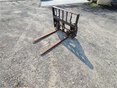 Worksaver Pallet Fork Attachment