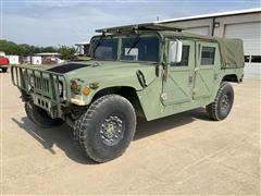 1990 American General Humvee M998 4-Door W/ Truck Body