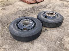 Michelin 255/80R22.5 Tires & Rims