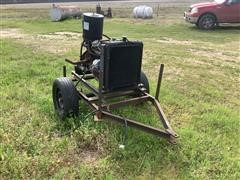 Ford 6 Cylinder Portable Natural Gas Power Unit (INOPERABLE)