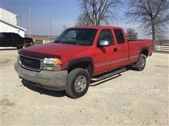 2001 GMC 2500HD Pickup