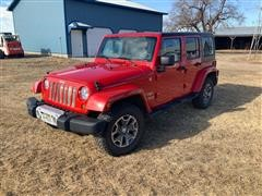 2011 Jeep Wrangler 4x4 Sport Utility Vehicle