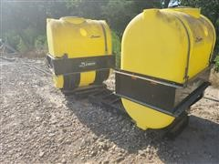 Demco Fertilizer Saddle Tanks