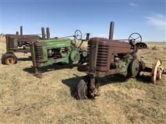 John Deere Model A 2WD Tractors