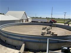 CME 90' Bin Outdoor Grain Storage Ring