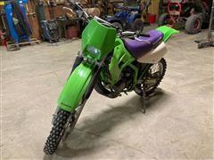 1997 Kawasaki 200 2 Stroke Off-road Dirt Bike