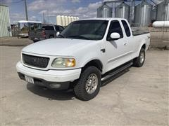 2002 Ford F150 4x4 Extended Cab Pickup