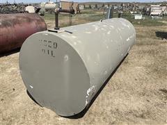 1000 Gallon Fuel Storage Tank