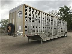 2010 Merritt Gold Line T/A Livestock Trailer
