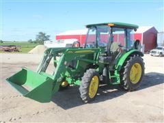 2014 John Deere 5065E MFWD Tractor