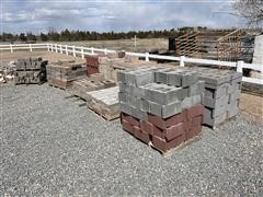 Assorted Segmental Retaining Wall Blocks