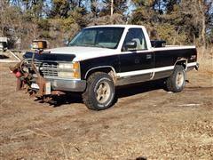 1992 Chevrolet K1500 4x4 Pickup