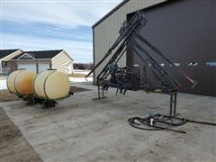 B&B Technologies Hydraulic X-Fold Sprayer, Pump & Saddle Tanks
