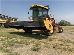 2009 New Holland H8080 Swather W/New Holland 770HD Head