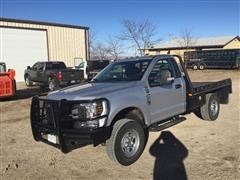 2018 Ford F350XL 4x4 Flatbed Pickup