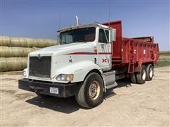 1997 International 9200 T/A Manure Spreader Truck W/MMI XHD-18 Box