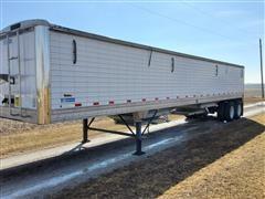 2016 Stoughton AHV-401T-S T/A Platinum Grain Trailer