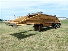 1992 Load King 8X40 Tri/A Bottom Dump Trailer