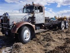 1956 Kenworth CC923 AK-29 T/A Cab & Chassis (INOPERABLE)