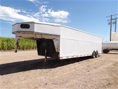 2007 Titan Gooseneck T/A Enclosed Cargo Trailer