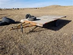 Homemade S/A Flatbed Trailer