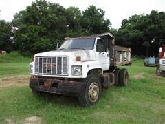 1991 GMC TopKick C7000 S/A Dump Truck