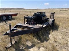 2005 Homemade Trailer Mounted Asphalt Sealer Tank